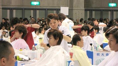 第62回全国理容競技大会in香川