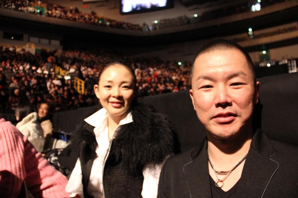 UFC144JAPAN写真4 SIHOさん、サイバーエージェント藤田晋社長、NIGOさん、内田裕也さん