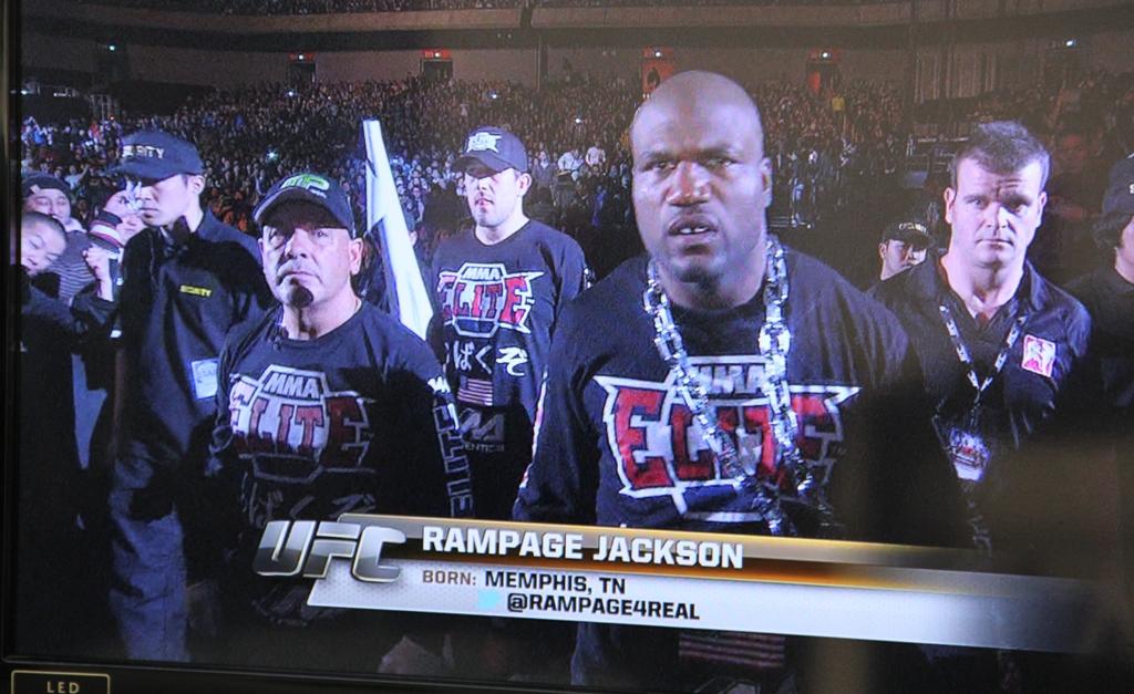 UFC144JAPAN ジャクソン入場 PRIDEテーマ曲 WOWOW