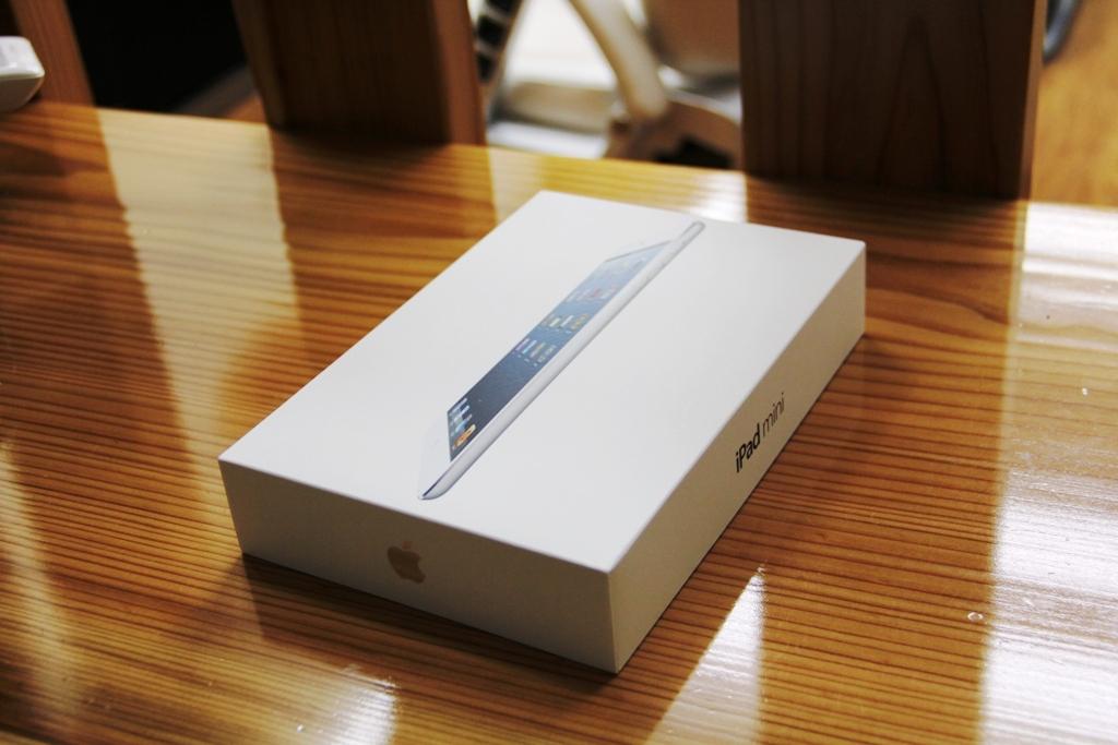 iPad miniが届く